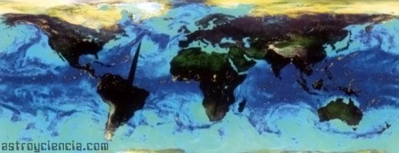 Zonas más húmedas de la Tierra