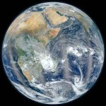 La mejor foto del lado oriental de la Tierra