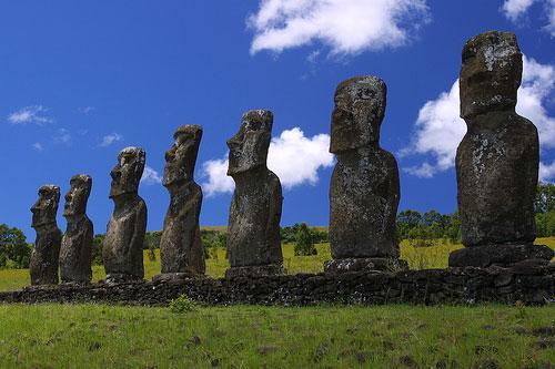 arqueoastronomia: Los Moai