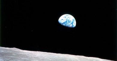 Imagen de 1968 de la Tierra desde la Luna