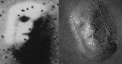 El secreto de la cara de Marte