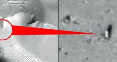 Solución al monolito hallado en Marte