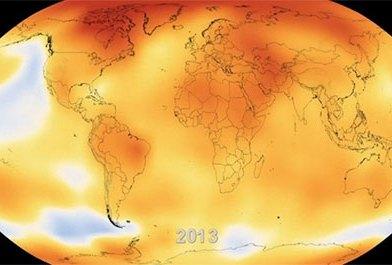 60 años de cambio climático resumidos en 15 segundos