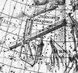 El telescopio de Herschel