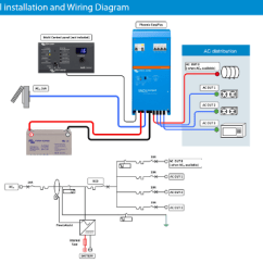 Solar Wiring Diagram With Generator Cat5 Twisted Pair Victron Easyplus Compact 1600va 12v