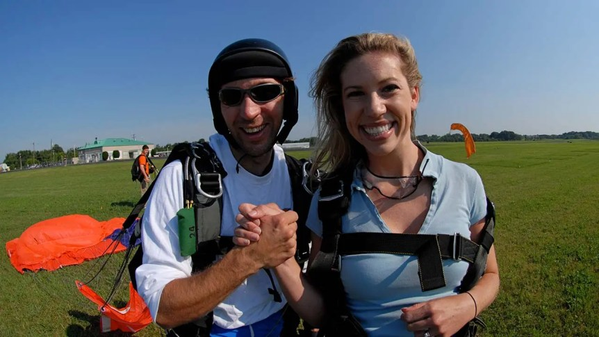 After Tandem Skydive Jump
