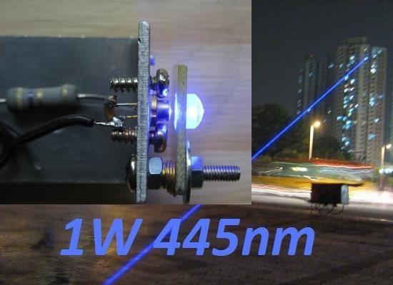 Ralisation LASER bleu 1W ou 2W 1000mW