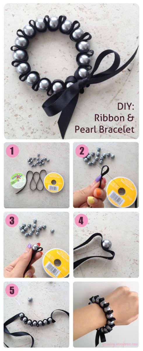 35411-Diy-Ribbon-And-Pearl-Woven-Bracelet-Tutorial