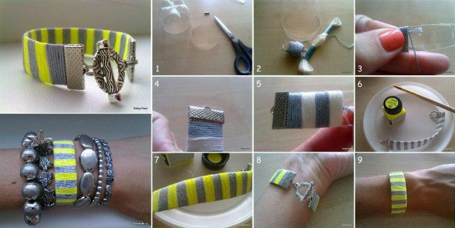 DIY-Plastic-Bottle-Neon-Bracelet-640x321