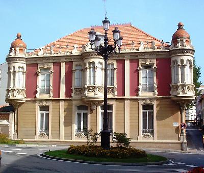 Lugares con historia de Luanco la Casa Mori Art Nouveau a orillas del Cantbrico