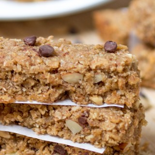 Chewy Maple Cereal Bars