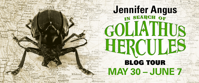 In Search of Goliathus Hercules Blog Tour