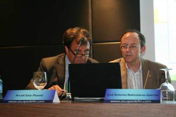 Arcadi Sala-Planell. José Antonio Ballesteros.