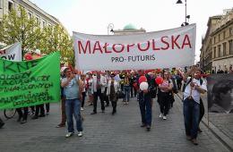 Polonia, Manifestación, Francos Suizos, Asufin, Pro Futuris