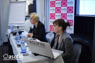Reunión Trimestral de abogados colaboradores de ASUFIN. Intervención de Patricia Suárez, Presidenta de ASUFIN.