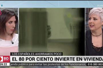 Patricia Suárez en Telemadrid sobre las tarjetas revolving