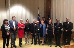 Ponentes del Congreso Esloveno sobre la visión europea sobre las soluciones sistémicas a los préstamos en divisas