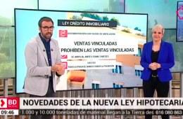 Patricia Suárez en Telemadrid sobre Gastos Hipotecarios y LCI