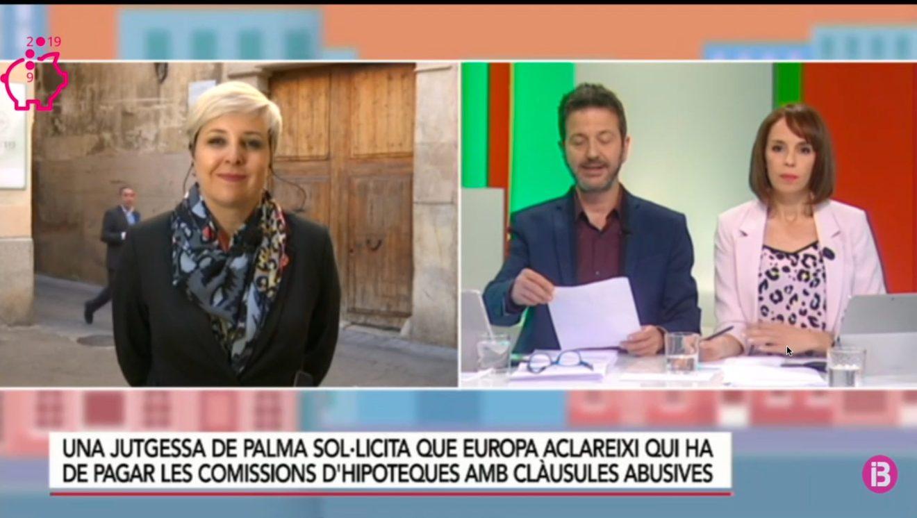 Patricia Suárez en IB3 sobre cláusulas abusivas
