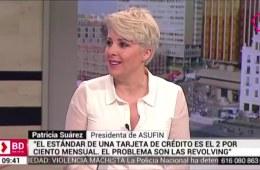 Patricia Suárez en Telemadrid sobre gasto de los consumidores