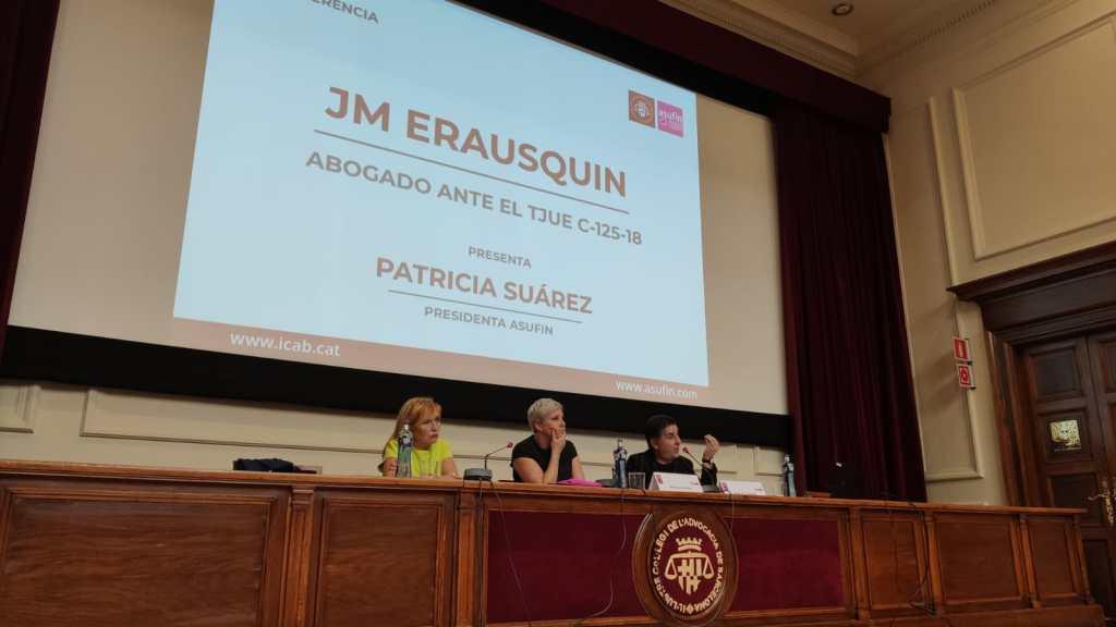JORNADA INFORMATIVA IRPH ASUFIN + ICAB