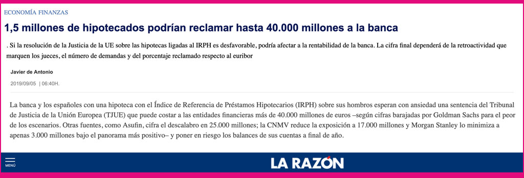 larazon- clipping - irph