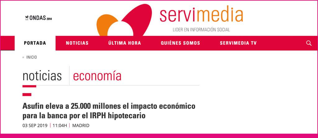 servimedia- clipping - irph