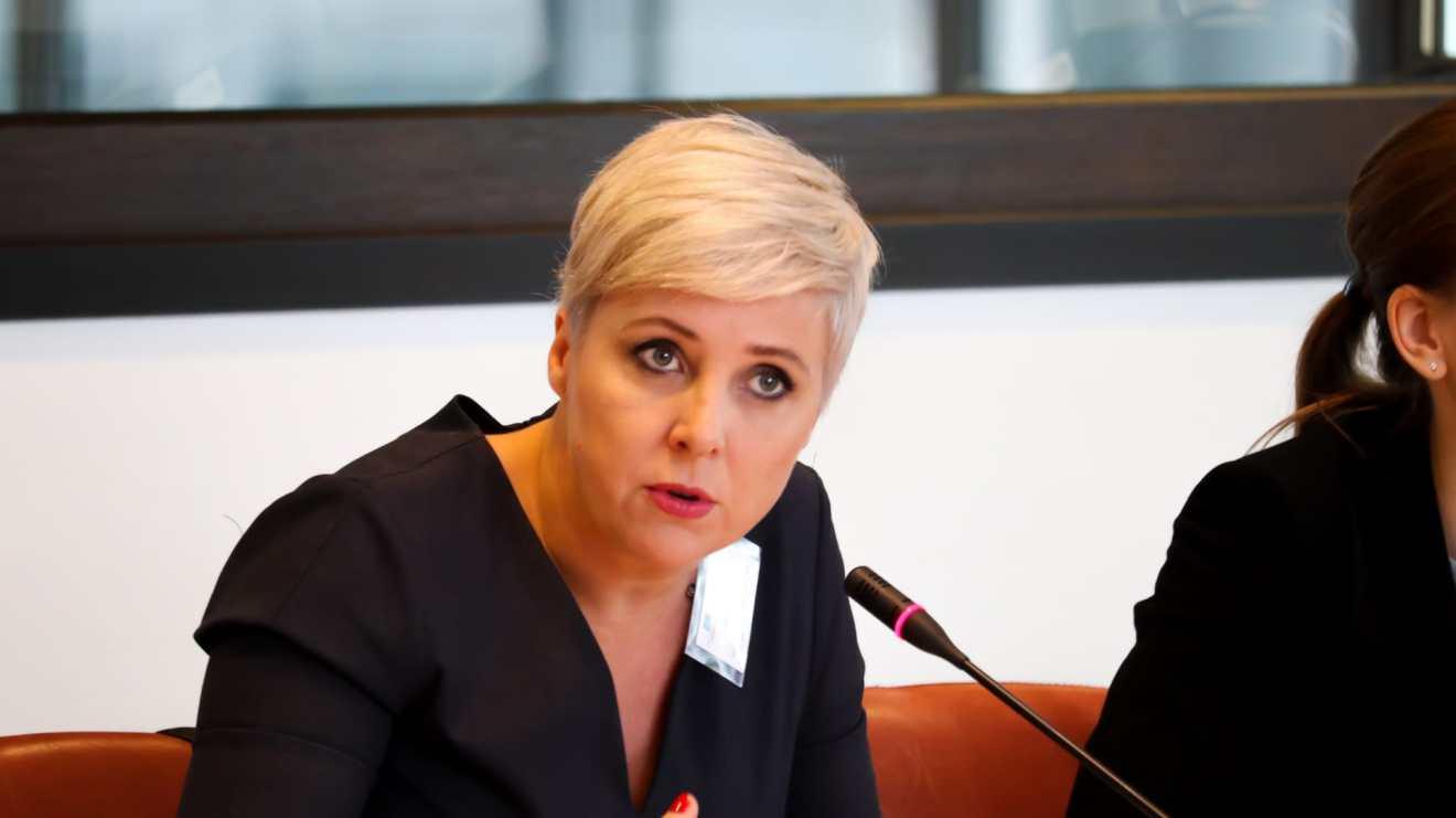 Patricia Suárez defiende a los consumidores en el Congreso de Proveedores de Servicios Financieros en Bruselas