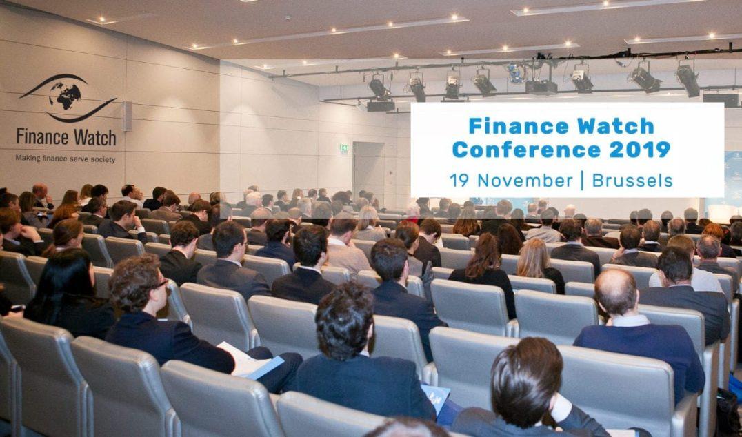 """Patricia Suárez, en Bruselas, en las jornadas de Finance Watch: """"10 años después de la crisis financiera, ¿ahora qué?"""""""