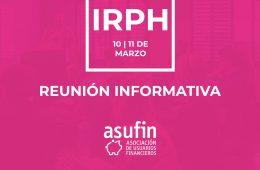 REUNIONES IRPH ASUFIN