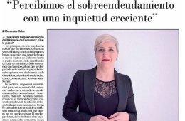 Entrevista a Patricia Suárez en El Nuevo Lunes - 03-02.20