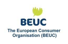 BEUC LOGO - The European Consumer Organisation - La Organización Europea de Consumidores es un grupo de consumidores paraguas, fundado en 1962. Con sede en Bruselas, Bélgica, reúne a 45 organizaciones europeas de consumidores de 32 países.