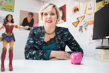 Patricia Suárez durante su entrevista con Voz Pópuli | Foto: Clara Rodríguez