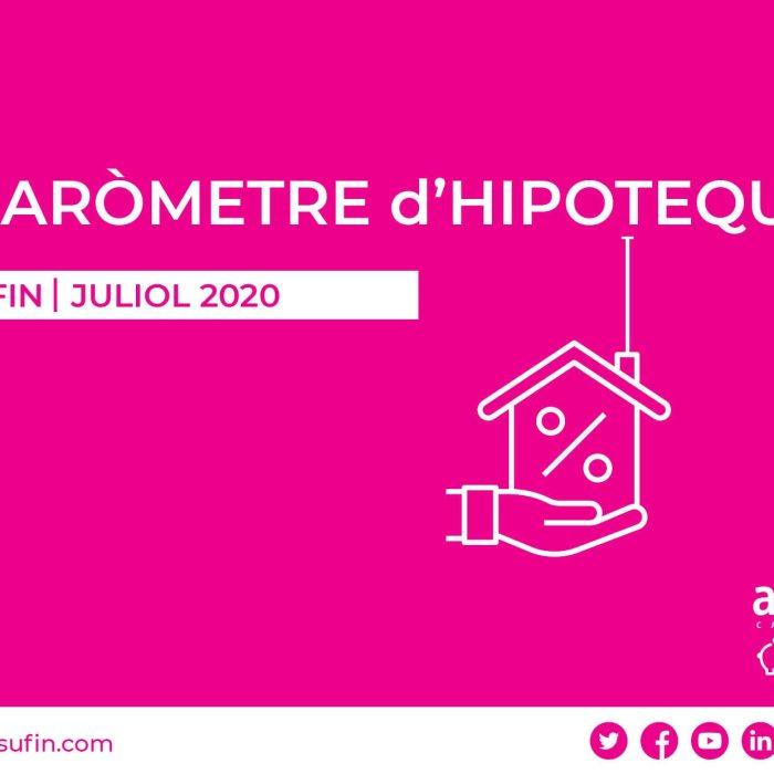 I BARÒMETRE ASUFIN D'HIPOTEQUES: El 10% dels espanyols renúncia a hipotecar-se