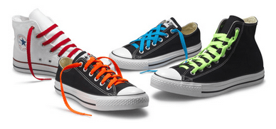 4 Cool Ways Of Tying Converse Shoelaces