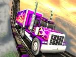 لعبة موقف الشاحنات الكبيرة