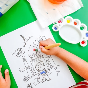 free ramadan coloring pages