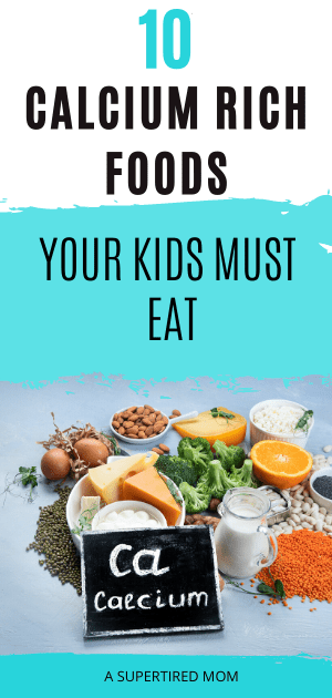 10 Best Calcium rich foods for kids you should include in their diet