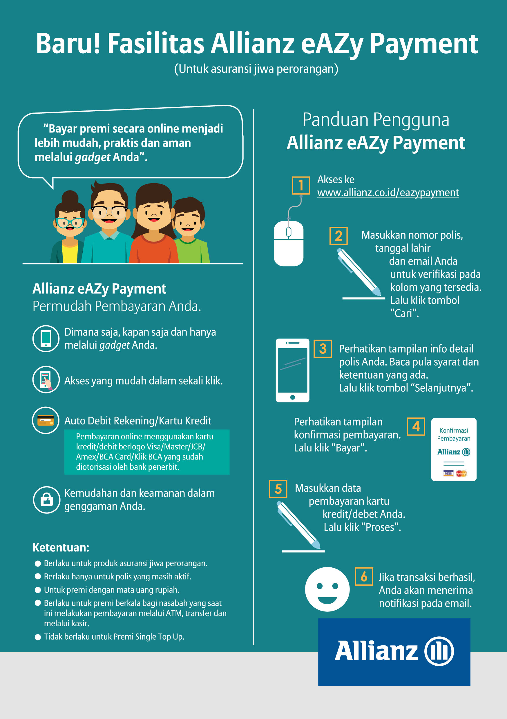 Flyer Allianz eAZy Payment_v1.5