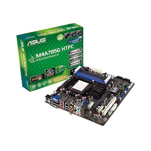 m4a785g htpc motherboards asus