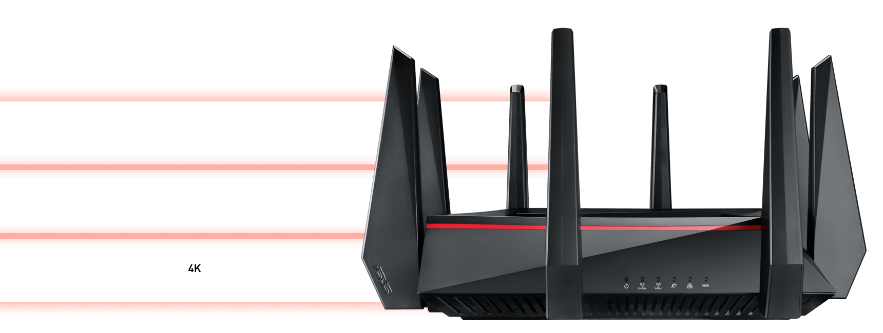 hight resolution of this means you get better range and faster more reliable connections consistently without the need to manually re connect to the best band available