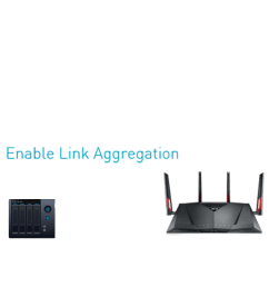 1st and 2nd port into one superfast wired connection for up to 2 gbps using two gigabit ethernet cables5 with link aggregation enabled on your nas  [ 680 x 1350 Pixel ]