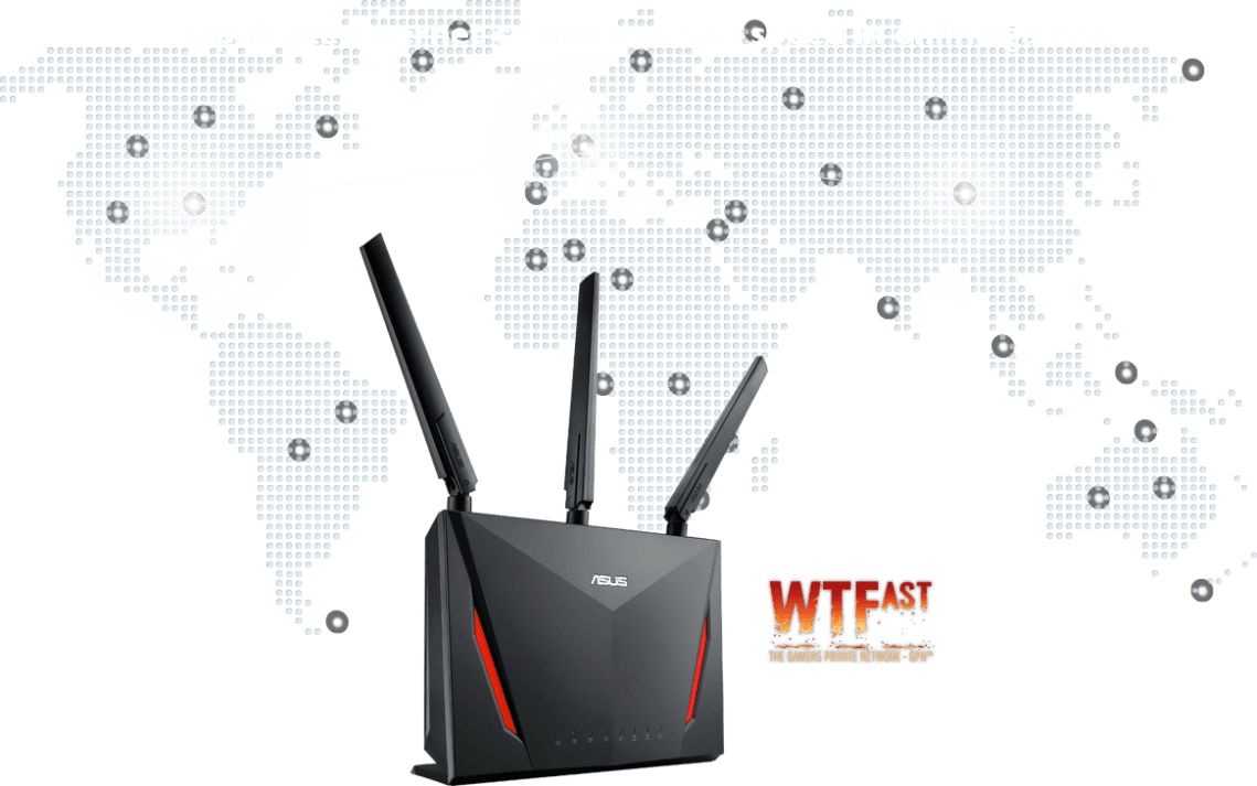 ASUS RT-AC86U router comes with build-in game acceleration called