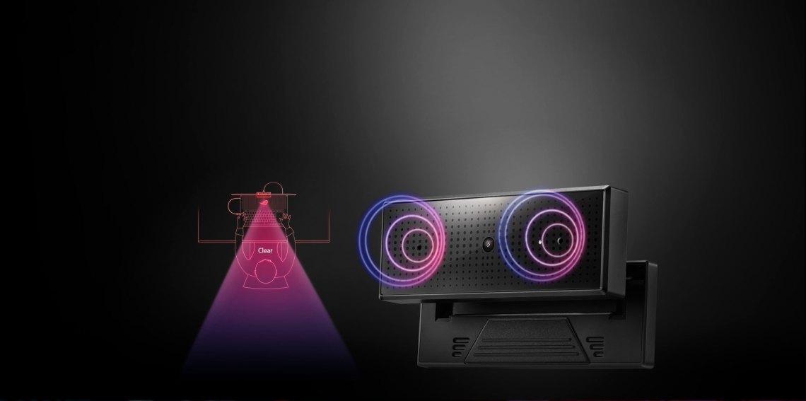 Microphone clair et haute qualité Enregistrement audio