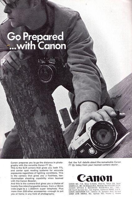 Anuncio Canon,1970