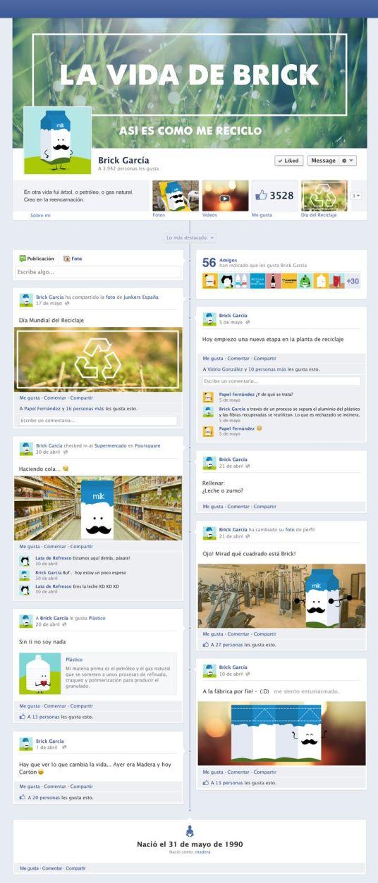 Anuncio brick de facebook