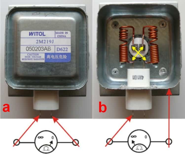Проверка магнетрона