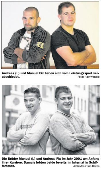 Andreas und Manuel Fix