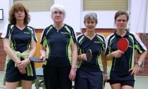 3.Damenmannschaft des ASV Berlin (Stand: 2012)