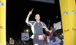 Saverio beim Ironman